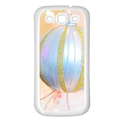 Sphere Tree White Gold Silver Samsung Galaxy S3 Back Case (white) by BangZart