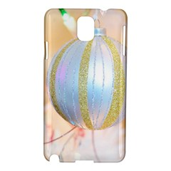 Sphere Tree White Gold Silver Samsung Galaxy Note 3 N9005 Hardshell Case by BangZart