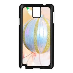 Sphere Tree White Gold Silver Samsung Galaxy Note 3 N9005 Case (black) by BangZart