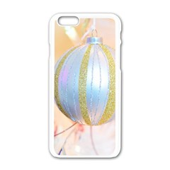 Sphere Tree White Gold Silver Apple Iphone 6/6s White Enamel Case by BangZart
