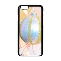 Sphere Tree White Gold Silver Apple Iphone 6/6s Black Enamel Case by BangZart