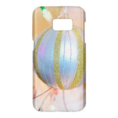Sphere Tree White Gold Silver Samsung Galaxy S7 Hardshell Case