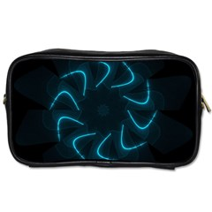 Background Abstract Decorative Toiletries Bags 2 Side
