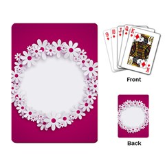 Photo Frame Transparent Background Playing Card
