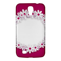 Photo Frame Transparent Background Samsung Galaxy Mega 6 3  I9200 Hardshell Case by BangZart