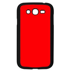Solid Christmas Red Velvet Samsung Galaxy Grand Duos I9082 Case (black) by PodArtist