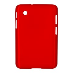 Solid Christmas Red Velvet Samsung Galaxy Tab 2 (7 ) P3100 Hardshell Case