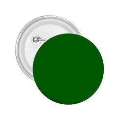 Solid Christmas Green Velvet Classic Colors 2 25  Buttons by PodArtist