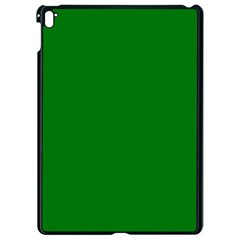 Solid Christmas Green Velvet Classic Colors Apple Ipad Pro 9 7   Black Seamless Case by PodArtist