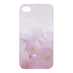 Pink Blossom Bloom Spring Romantic Apple Iphone 4/4s Premium Hardshell Case by BangZart