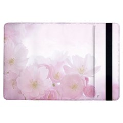 Pink Blossom Bloom Spring Romantic Ipad Air Flip by BangZart
