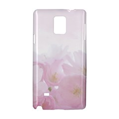 Pink Blossom Bloom Spring Romantic Samsung Galaxy Note 4 Hardshell Case by BangZart