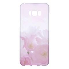 Pink Blossom Bloom Spring Romantic Samsung Galaxy S8 Plus Hardshell Case  by BangZart