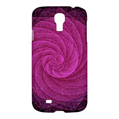 Purple Background Scrapbooking Abstract Samsung Galaxy S4 I9500/i9505 Hardshell Case by BangZart