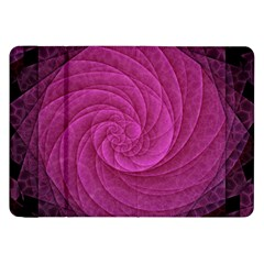 Purple Background Scrapbooking Abstract Samsung Galaxy Tab 8 9  P7300 Flip Case by BangZart