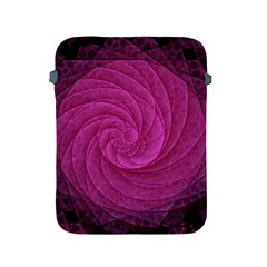 Purple Background Scrapbooking Abstract Apple Ipad 2/3/4 Protective Soft Cases by BangZart
