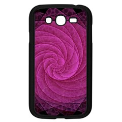 Purple Background Scrapbooking Abstract Samsung Galaxy Grand Duos I9082 Case (black) by BangZart