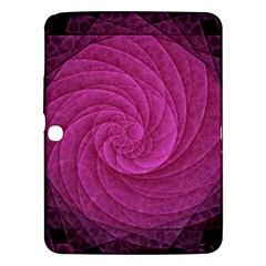 Purple Background Scrapbooking Abstract Samsung Galaxy Tab 3 (10 1 ) P5200 Hardshell Case  by BangZart