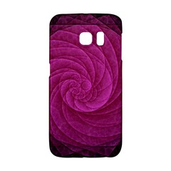 Purple Background Scrapbooking Abstract Galaxy S6 Edge