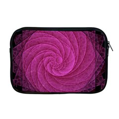 Purple Background Scrapbooking Abstract Apple Macbook Pro 17  Zipper Case by BangZart