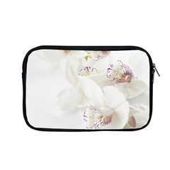 Orchids Flowers White Background Apple Macbook Pro 13  Zipper Case by BangZart