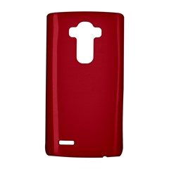 Usa Flag Red Blood Red Classic Solid Color  Lg G4 Hardshell Case by PodArtist