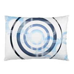 Center Centered Gears Visor Target Pillow Case (two Sides) by BangZart