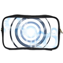Center Centered Gears Visor Target Toiletries Bags 2 Side by BangZart