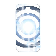 Center Centered Gears Visor Target Samsung Galaxy S4 I9500/i9505  Hardshell Back Case by BangZart