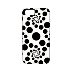 Dot Dots Round Black And White Apple Iphone 5 Classic Hardshell Case (pc+silicone) by BangZart