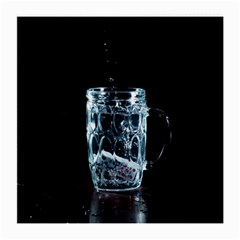 Glass Water Liquid Background Medium Glasses Cloth by BangZart