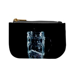 Glass Water Liquid Background Mini Coin Purses by BangZart
