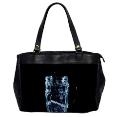 Glass Water Liquid Background Office Handbags by BangZart