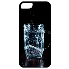 Glass Water Liquid Background Apple Iphone 5 Classic Hardshell Case by BangZart