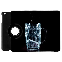Glass Water Liquid Background Apple Ipad Mini Flip 360 Case by BangZart
