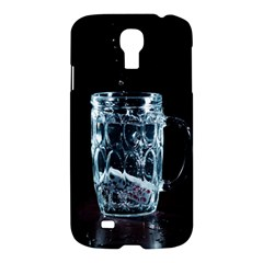 Glass Water Liquid Background Samsung Galaxy S4 I9500/i9505 Hardshell Case by BangZart