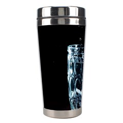 Glass Water Liquid Background Stainless Steel Travel Tumblers by BangZart