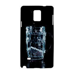 Glass Water Liquid Background Samsung Galaxy Note 4 Hardshell Case by BangZart
