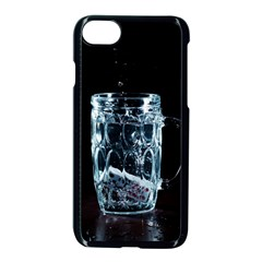Glass Water Liquid Background Apple Iphone 7 Seamless Case (black) by BangZart