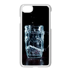 Glass Water Liquid Background Apple Iphone 7 Seamless Case (white) by BangZart