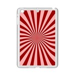 Sun Background Optics Channel Red iPad Mini 2 Enamel Coated Cases Front
