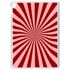 Sun Background Optics Channel Red Apple Ipad Pro 9 7   White Seamless Case by BangZart