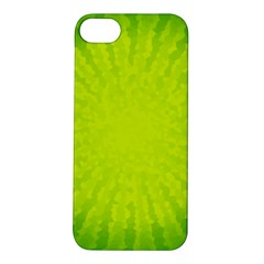 Radial Green Crystals Crystallize Apple Iphone 5s/ Se Hardshell Case by BangZart