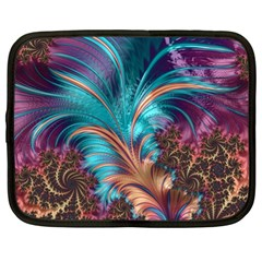 Feather Fractal Artistic Design Netbook Case (xxl)  by BangZart
