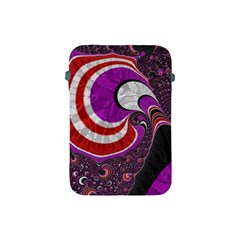 Fractal Art Red Design Pattern Apple Ipad Mini Protective Soft Cases by BangZart