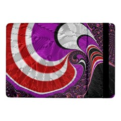 Fractal Art Red Design Pattern Samsung Galaxy Tab Pro 10 1  Flip Case