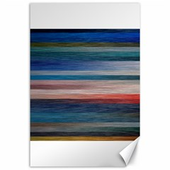 Background Horizontal Lines Canvas 24  X 36  by BangZart