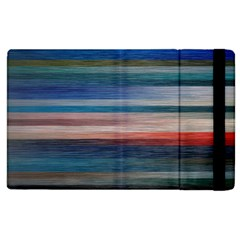 Background Horizontal Lines Apple Ipad 2 Flip Case by BangZart