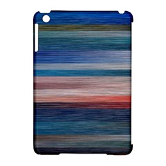 Background Horizontal Lines Apple Ipad Mini Hardshell Case (compatible With Smart Cover) by BangZart