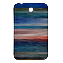Background Horizontal Lines Samsung Galaxy Tab 3 (7 ) P3200 Hardshell Case  by BangZart